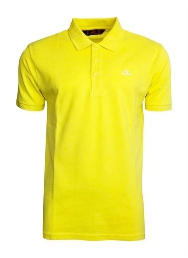 Kappa Rdk Polo T-Shirt Larz  Sarı